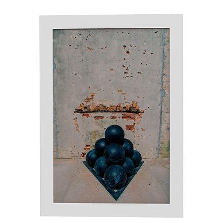 Quadro Decorativo Abstrato Cannonball