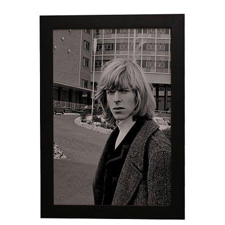 Quadro Decorativo David Bowie Jovem