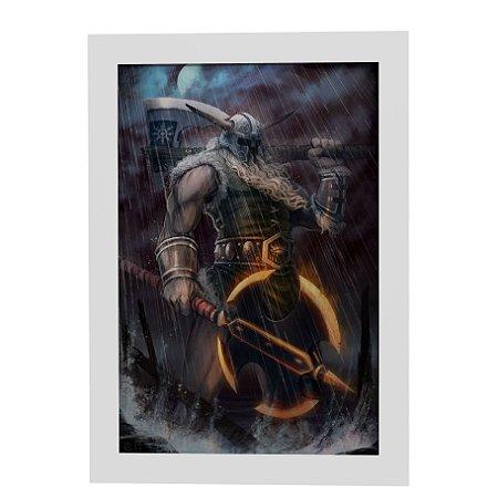 Quadro Decorativo Olaf (League of Legends)