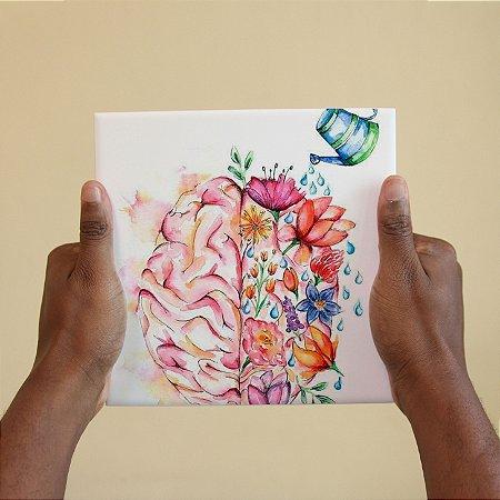 Azulejo Decorativo Cérebro Regado