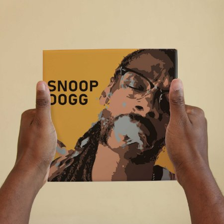 Quadro Decorativo Snoop Dogg - Coleção Revista Rap