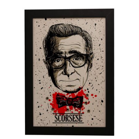 Quadro Decorativo Martin Scorsese