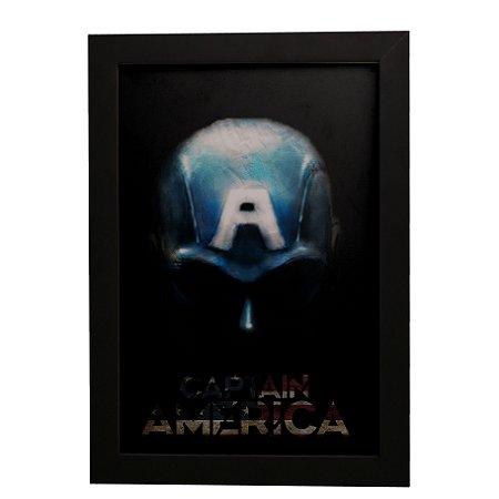 Quadro Decorativo Capitão América