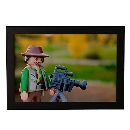 Quadro Decorativo Cineasta LEGO
