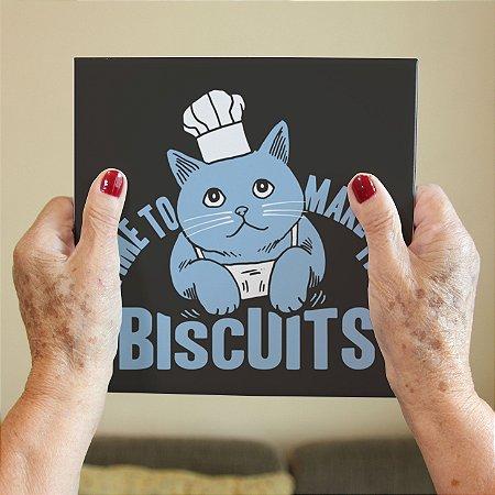 Azulejo Decorativo Hora de Fazer Biscoitos