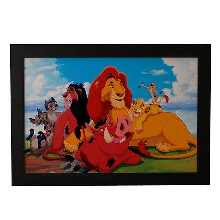 Quadro Decorativo O Rei Leão