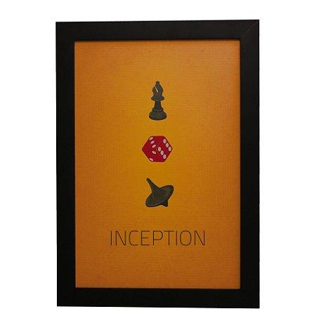 Quadro Decorativo Inception (A Origem)