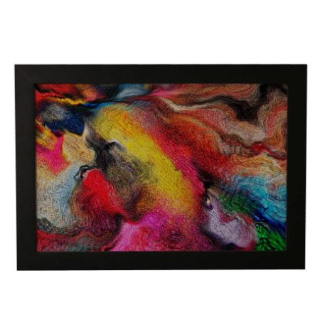 Quadro Decorativo Abstrato Multicolor