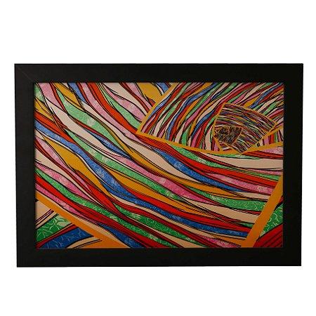 Quadro Decorativo Abstrato Colorido #1