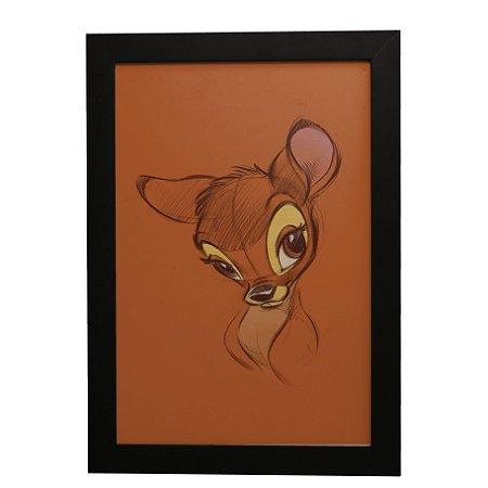 Quadro Decorativo Bambi