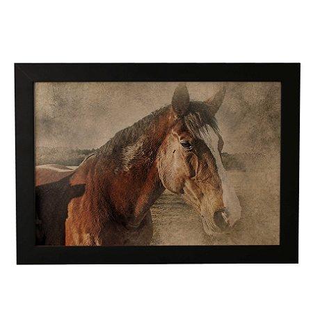 Quadro Decorativo Cavalo Vintage
