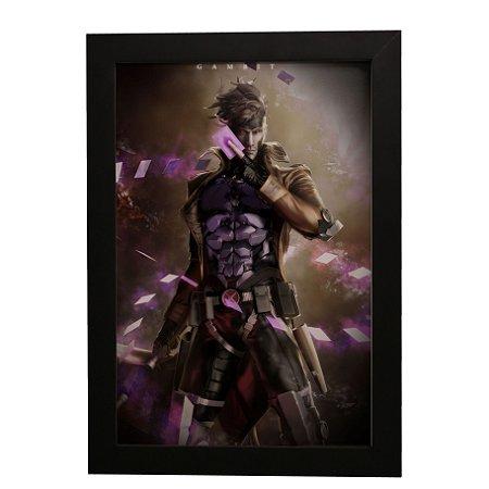Quadro Decorativo Gambit (X-Men)