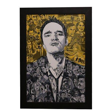 Quadro Decorativo Quentin Tarantino