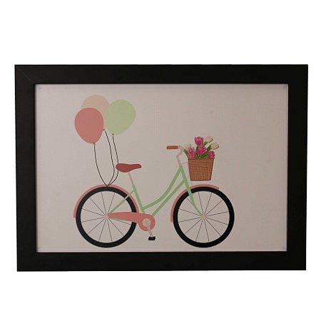 Quadro Decorativo Infantil Bike
