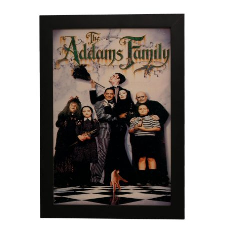 Quadro Decorativo Família Addams