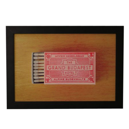 Quadro Decorativo Grand Budapest