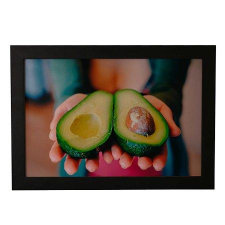 Quadro Decorativo Abacate na Mão