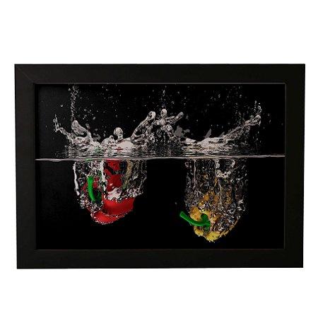 Quadro Decorativo Frutas N'Água