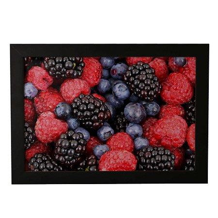 Quadro Decorativo Frutas Vermelhas