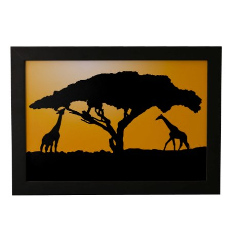 Quadro Decorativo Sombra Safari