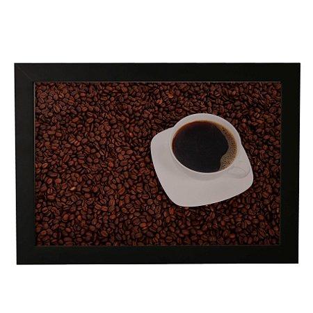 Quadro Decorativo Grãos e Café