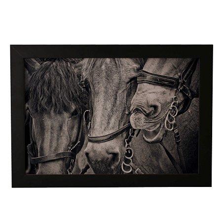 Quadro Decorativo Três Cavalos