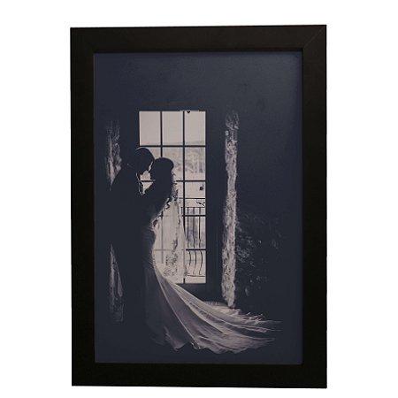 Quadro Decorativo Noivo e Noiva
