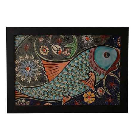 Quadro Decorativo Peixe Arte