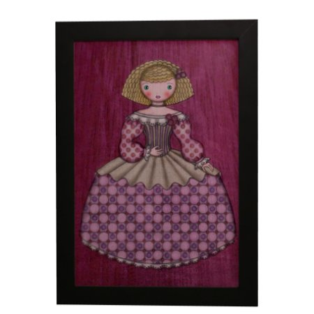 Quadro Decorativo Boneca de Vestido #5