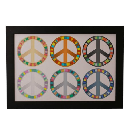 Quadro Decorativo Hippie Paz