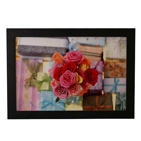 Quadro Decorativo Buquê de Rosas