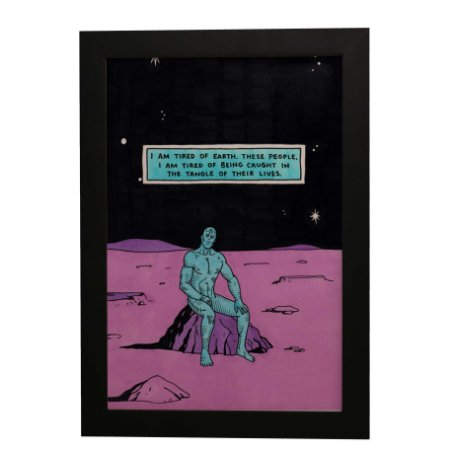 Quadro Decorativo Dr. Manhattan