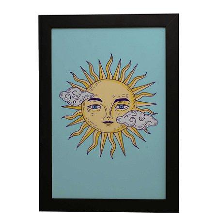 Quadro Decorativo Sol Místico