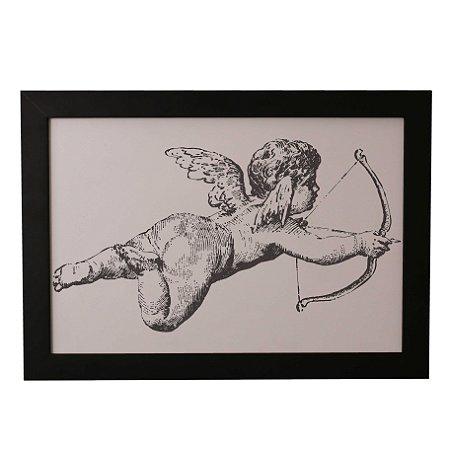 Quadro Decorativo Anjo Cupido