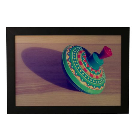 Quadro Decorativo Piãozinho Colorido