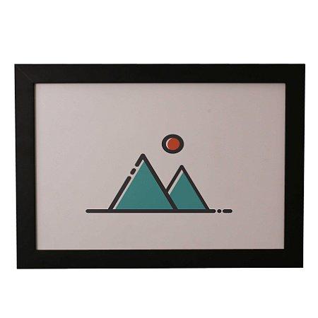 Quadro Decorativo Montanhazinhas