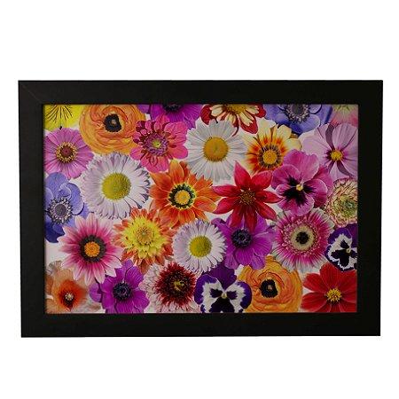 Quadro Decorativo Flores Vivas