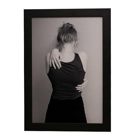 Quadro Decorativo Auto-Abraço
