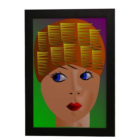 Quadro Decorativo Mulher Arte