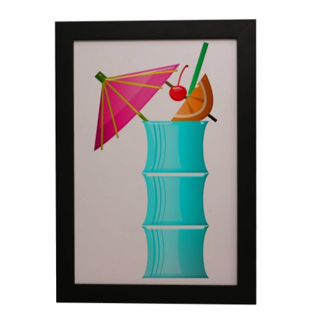 Quadro Decorativo Drink Tropical