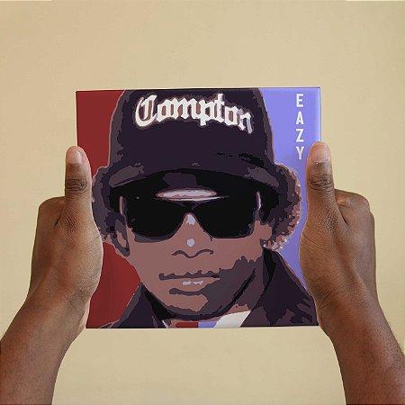 Quadro Decorativo Eazy E - Coleção Revista Rap