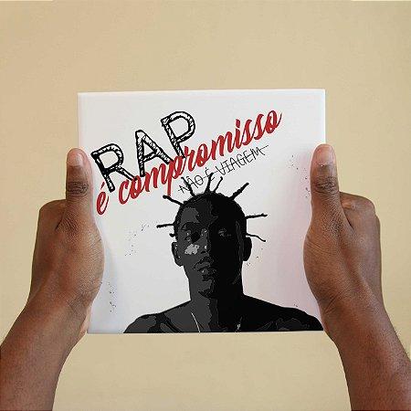 Quadro Decorativo Sabotage - Coleção Revista Rap