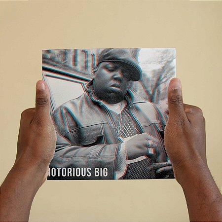 Quadro Decorativo Notorious Big #2 - Coleção Revista Rap