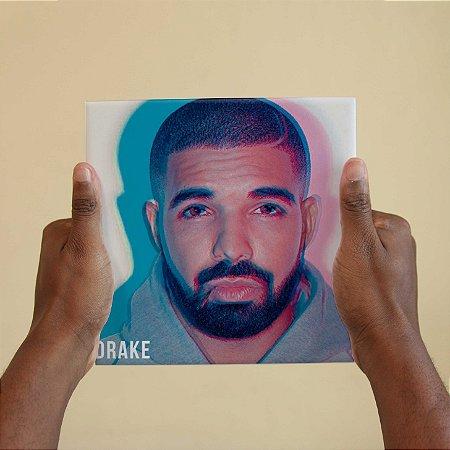 Quadro Decorativo Drake - Coleção Revista Rap