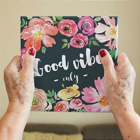 Azulejo Decorativo Good Vibes