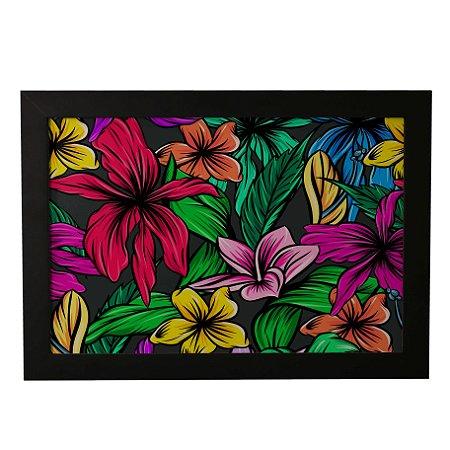 Quadro Decorativo Flores Coloridas #1