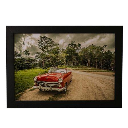Quadro Decorativo Carro Cubano