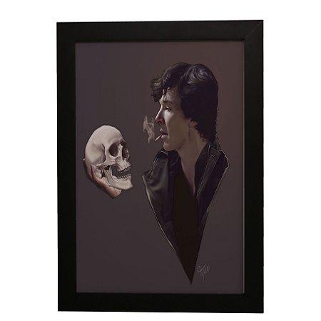 Quadro Decorativo Sherlock Holmes (Série)