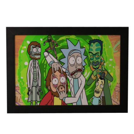 Quadro Decorativo Ricky and Morty