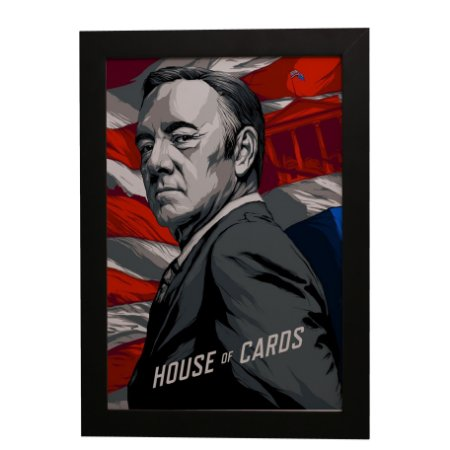 Quadro Decorativo House of Cards